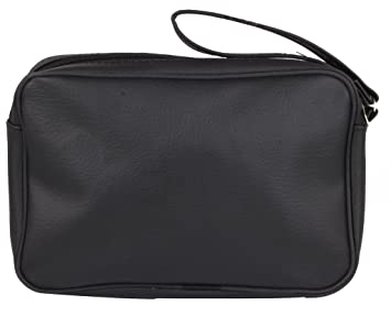 PSH Passport Sling Bag Travel Pouch Black Color  8.5 x 5.5 Inch  Travel Accessories