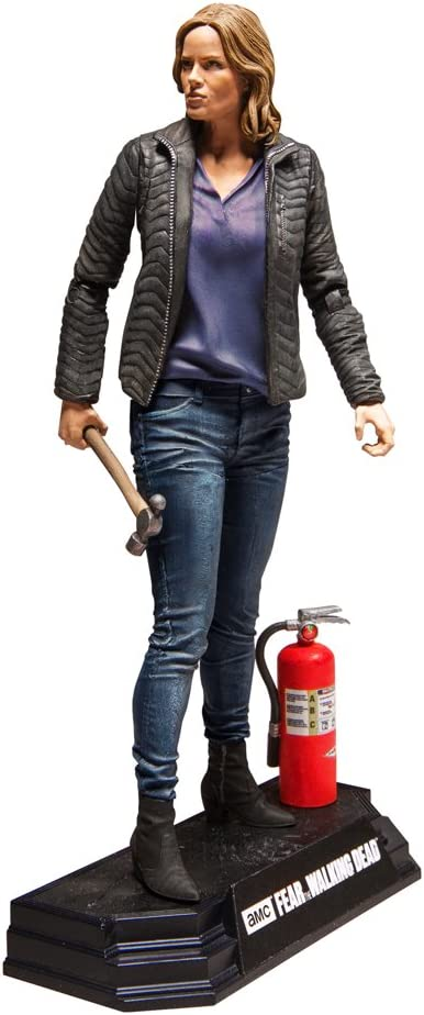 """McFARLANE TOYS FEAR THE WALKING DEAD COLOR TOPS RED #4 /""""MADISON/"""" FIGURE"""
