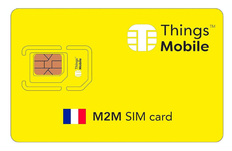Tarjeta SIM M2M FRANCIA - Things Mobile: Amazon.es: Electrónica