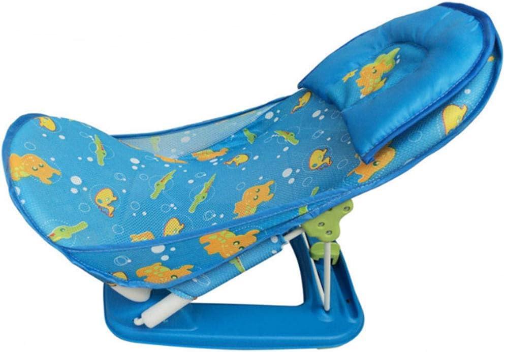 Silla de baño para bebé Rack de ducha Sillas de baño plegables Material no tóxico seguro y saludable en línea con el diseño ergonómico del bebé Uso de la bañera Uso del baño para un almacenamiento