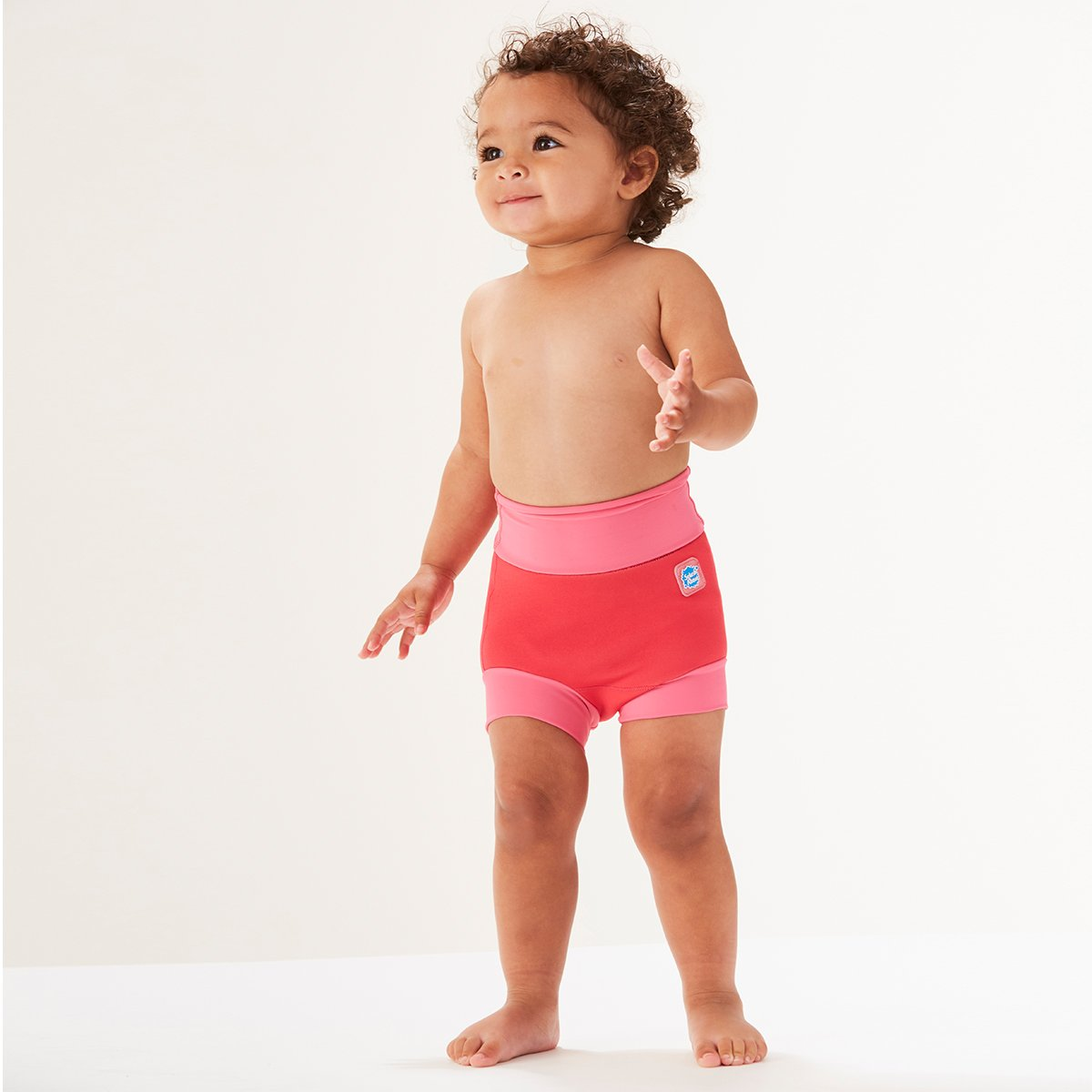 Geranium Splash About Baby Kids New Improved Happy Nappy,Pink ,3-6 Months