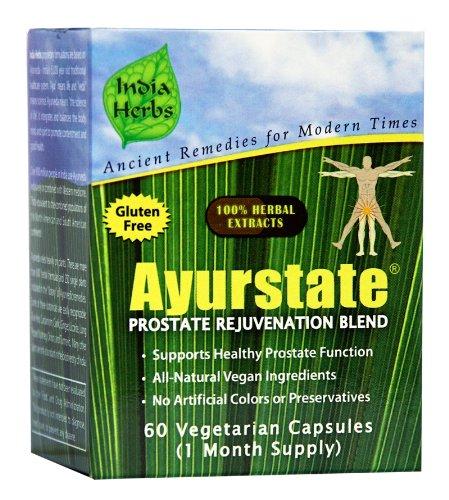 Ayurstate rajeunissement de la prostate, 60 capsules