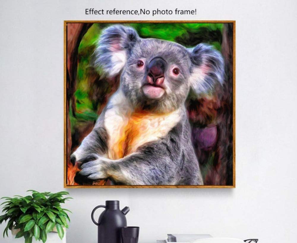 Koala Diamond Painting Full Square Diamond Embroidery Animal Decoration Home 5D DIY Picture of Rhinestone Mosaic Handmade Frameless