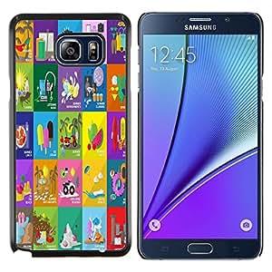 Dragon Case - FOR Samsung Note 5 N9200 N920 - thought of time - Caja protectora de pl??stico duro de la cubierta Dise?¡Ào Slim Fit