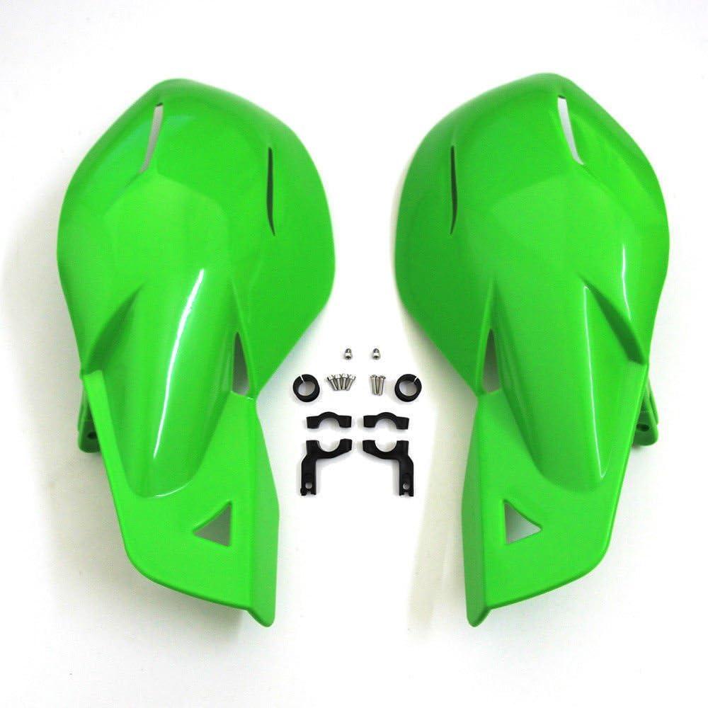 Rouge LEAGUE/&CO 2PCS Prot/ège Main Plastique pour Poign/ée de Moto Universel 22mm 7//8 Guidon