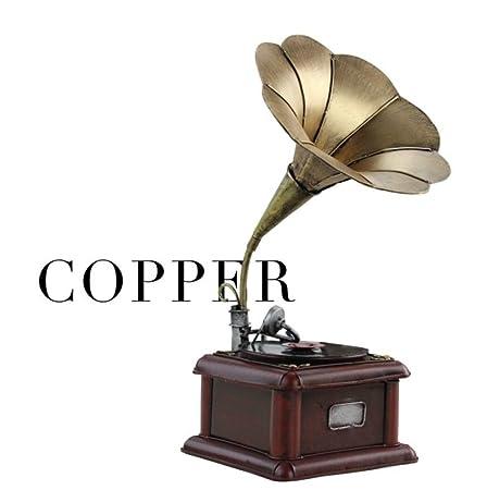GL&G Modelo de tocadiscos de fonógrafo de Nostalgia retro ...