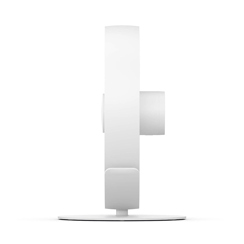 Stadler Form Tischventilator Tim ideal f/ür Schlafzimmer und B/üro k/ühlt leise mit stufenlosem Drehzahlregler mit USB-Anschluss weiss