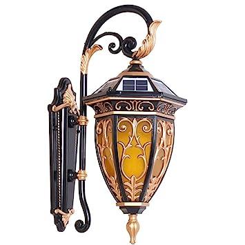 Lanterne Version InnovanteLed style Lampe Européen Applique Murale A5jL34R