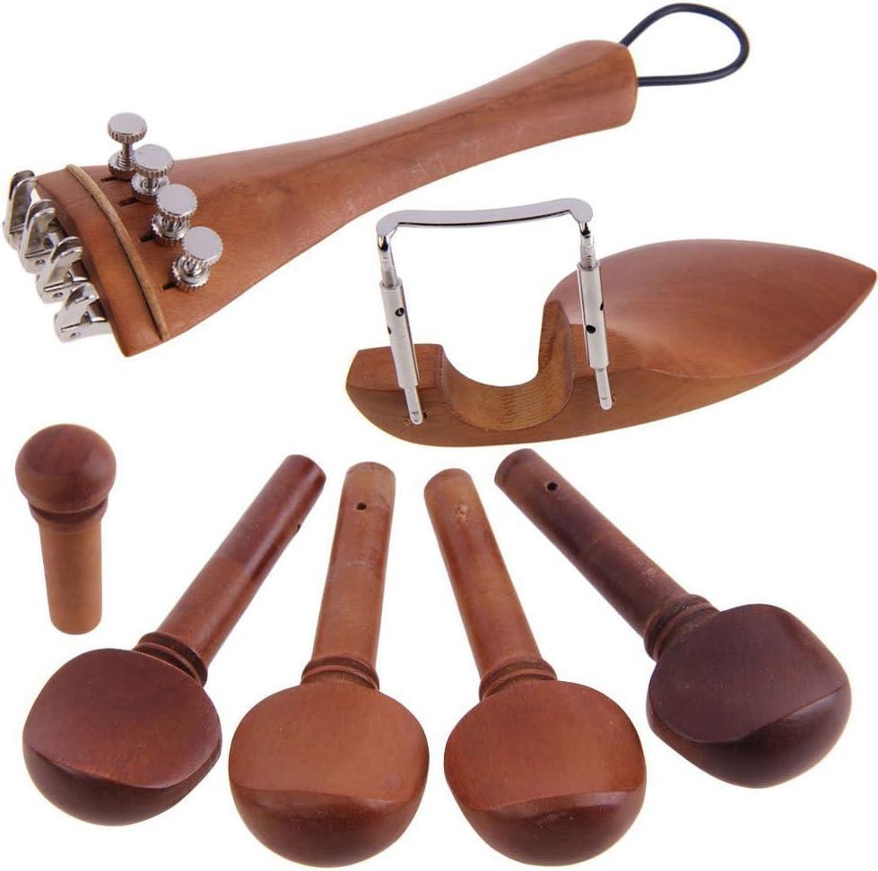 مجموعة إكسسوارات مكونة من 4/4 أجزاء من الكمان الطبيعي من فيستنايت مصنوعة من خشب يوجوب الطبيعي