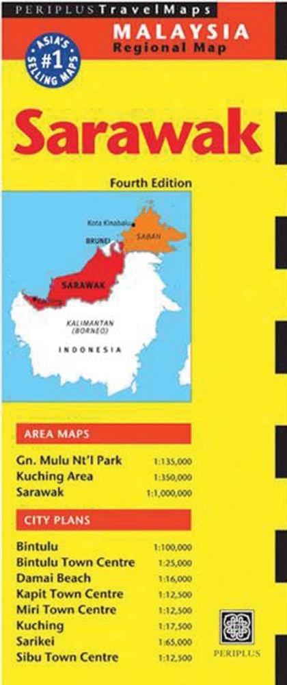 Read Online Sarawak Travel Map Fourth Edition (Malaysia Regional Maps) pdf