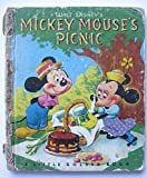 img - for Mickey Mouse's Picnic (Little Golden Book No. D15) book / textbook / text book