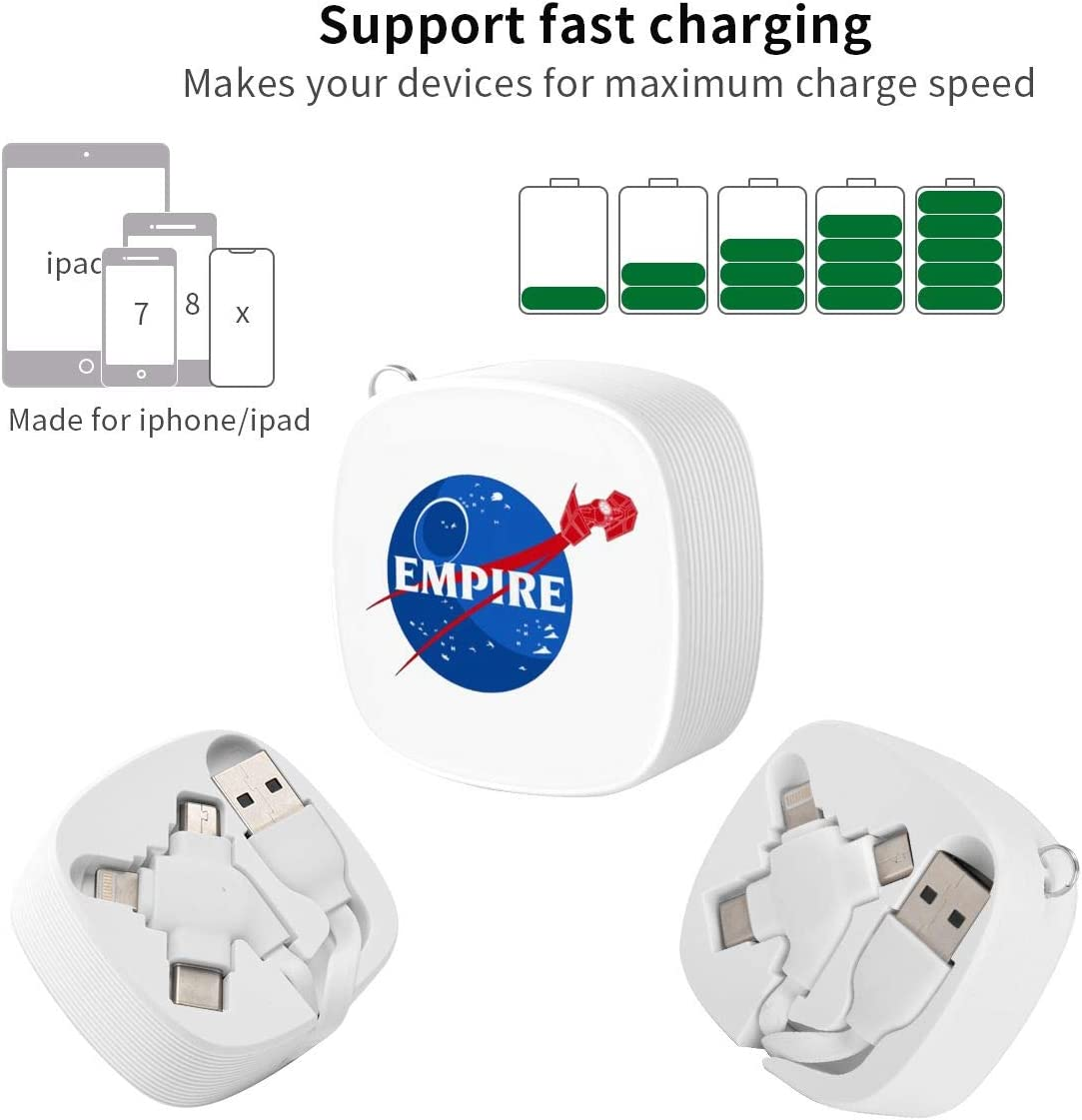 Empire Suitable for Any Mobile Phone Three in One Data Line