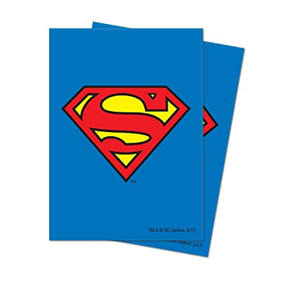 Ultra Pro Official Justice League Superman Deck Protector Sleeves (65ct): Toys & Games