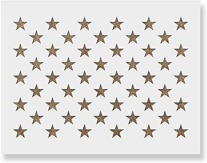 Stars Stencil Reusable Stars Pattern Stencil