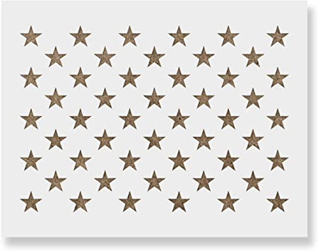 Stars ST5040 Cardmaking Stencils Templates Masks for Scrapooking