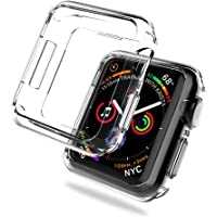 LK for Apple Watch Series 4 Case 44mm Soft TPU All-Around Protective Bumper Case Cover