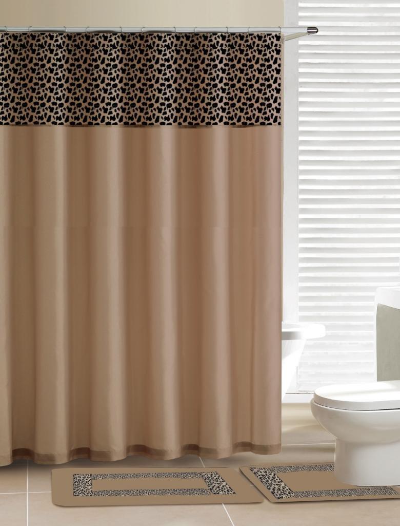amazon com home dynamix db15d 456 designer bath polyester 15 amazon com home dynamix db15d 456 designer bath polyester 15 piece bathroom set gray black home kitchen