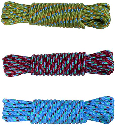Koch Industries 5170624  Utility Rope Hank 3//16-Inch by 50-Feet Assorted Colors