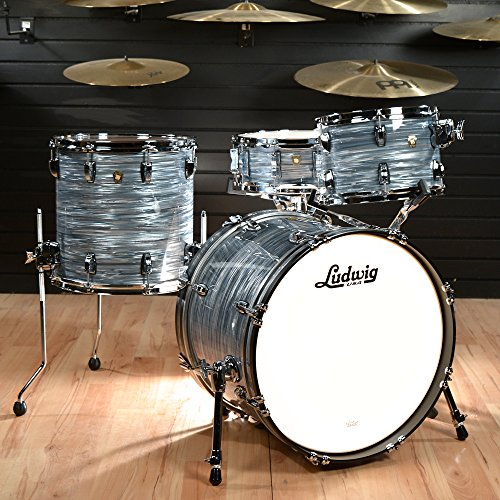 Ludwig Classic Maple Snare (Ludwig 12/14/20 Classic Maple 3pc Kit Vintage Blue Oyster w/ Free 5x14 Snare Drum)