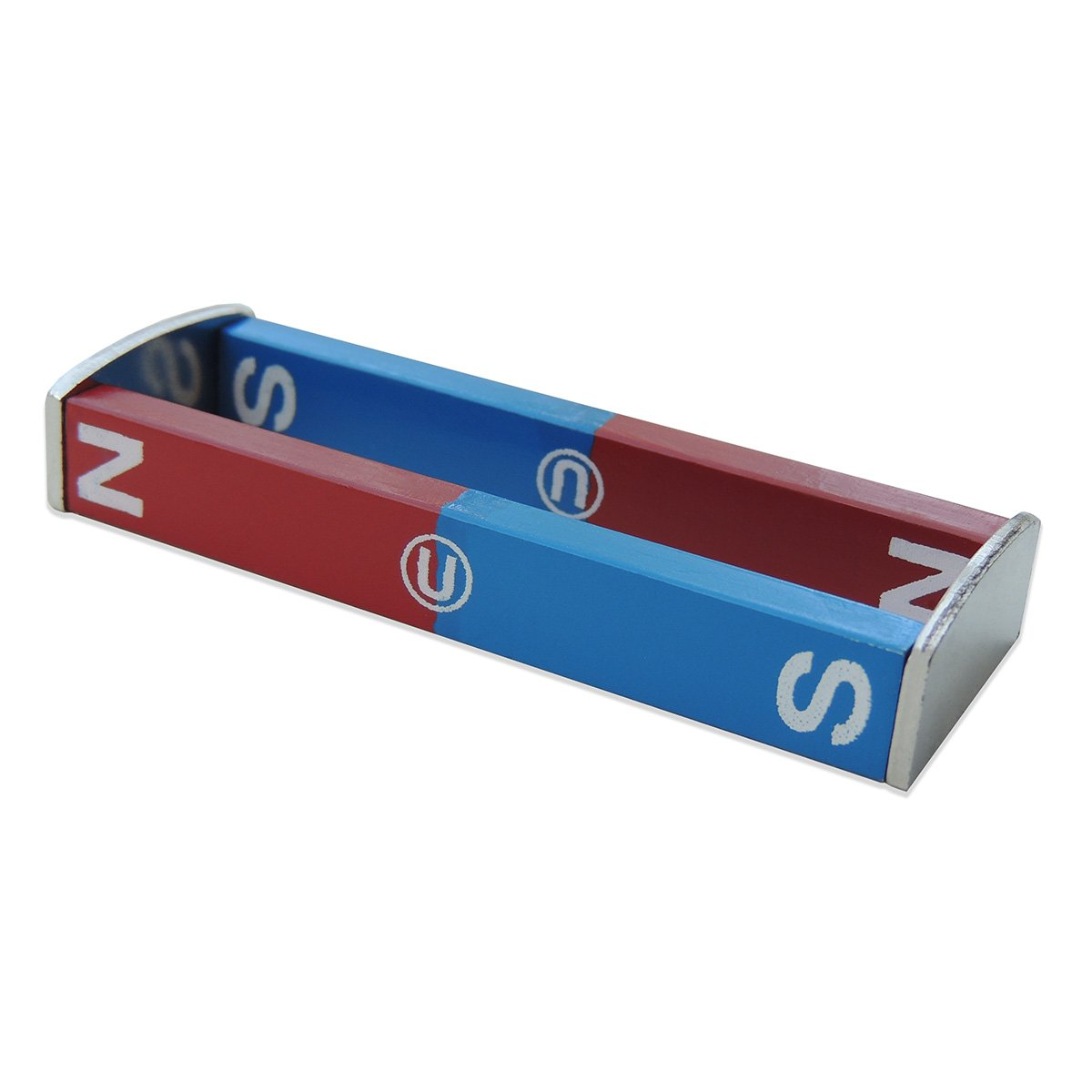 North/South Bar Magnets, 3'' Length, Pack of 2