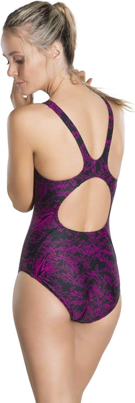 Speedo Boom Allover Muscleback  Costume da Bagno  Donna