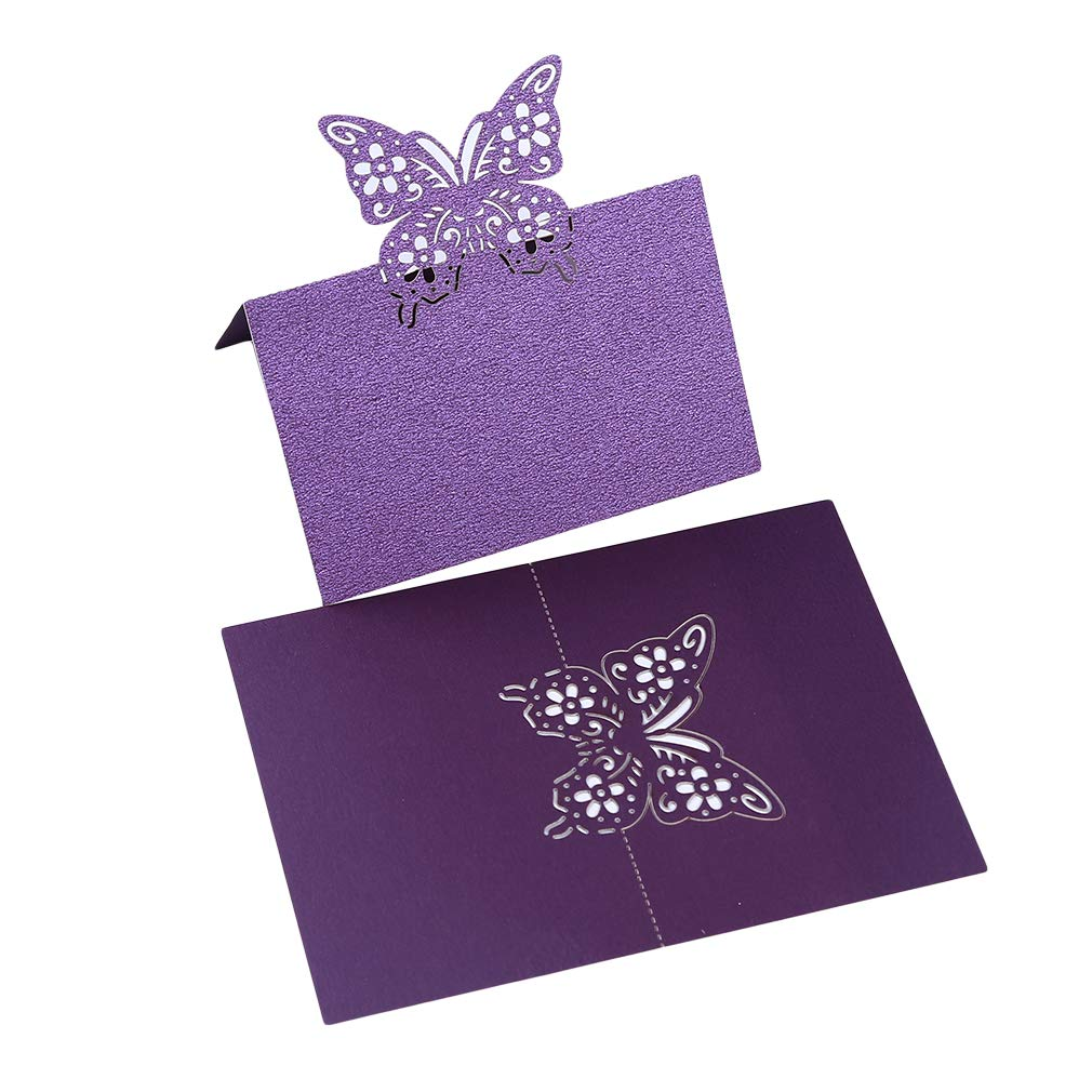 Wedding Parties CHOOSE COLOUR 100 Butterfly Blank Table Name Place Cards