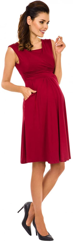 Zeta Ville Premam/á Vestido de Lactancia Efecto 2 en 1 500c para Mujer