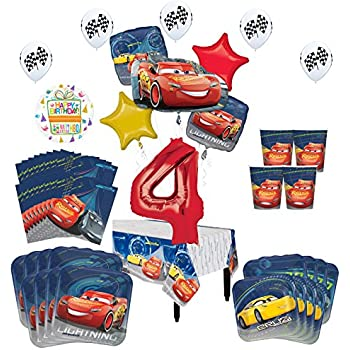Disney Pixars Cars 3 Latex Balloons Party Supplies Decoration ASSORTED