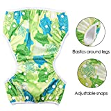 Reusable Swim Diapers Washable Swim Nappies with