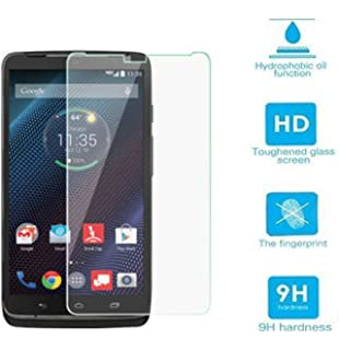 Teliqi 9h Premium Tempered Glass Ultra Clear HD Screen Protector for Motorola Droid Turbo XT1254