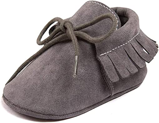 Baby Boys Girls Moccasins Sneakers Soft