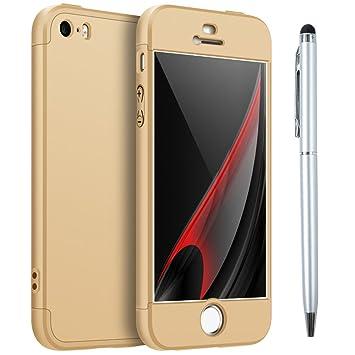 iPhone 5S Carcasa, iPhone SE Funda Dura Plástico PC ...