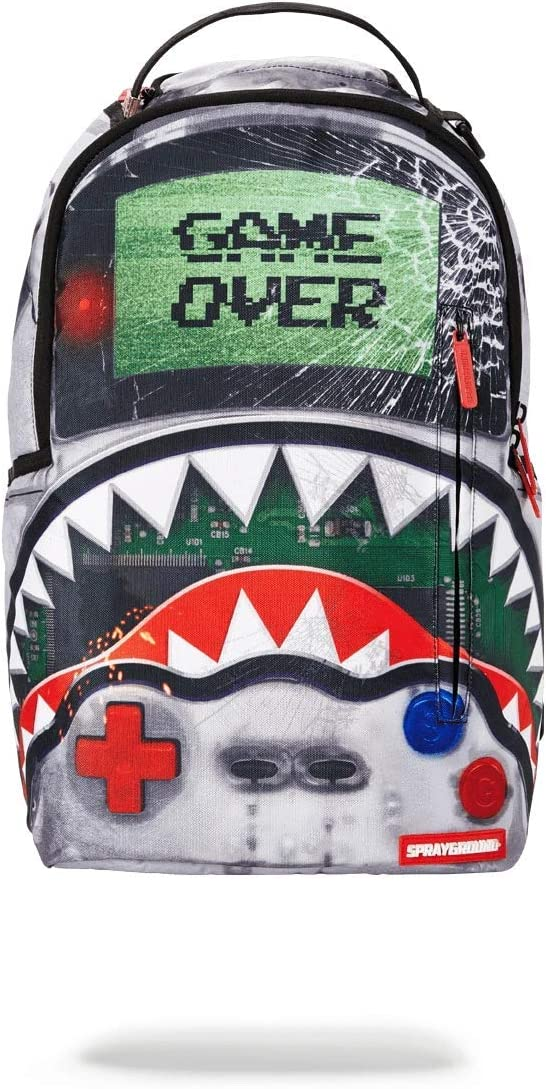 SPRAYGROUND BACKPACK GAME OVER SHARK