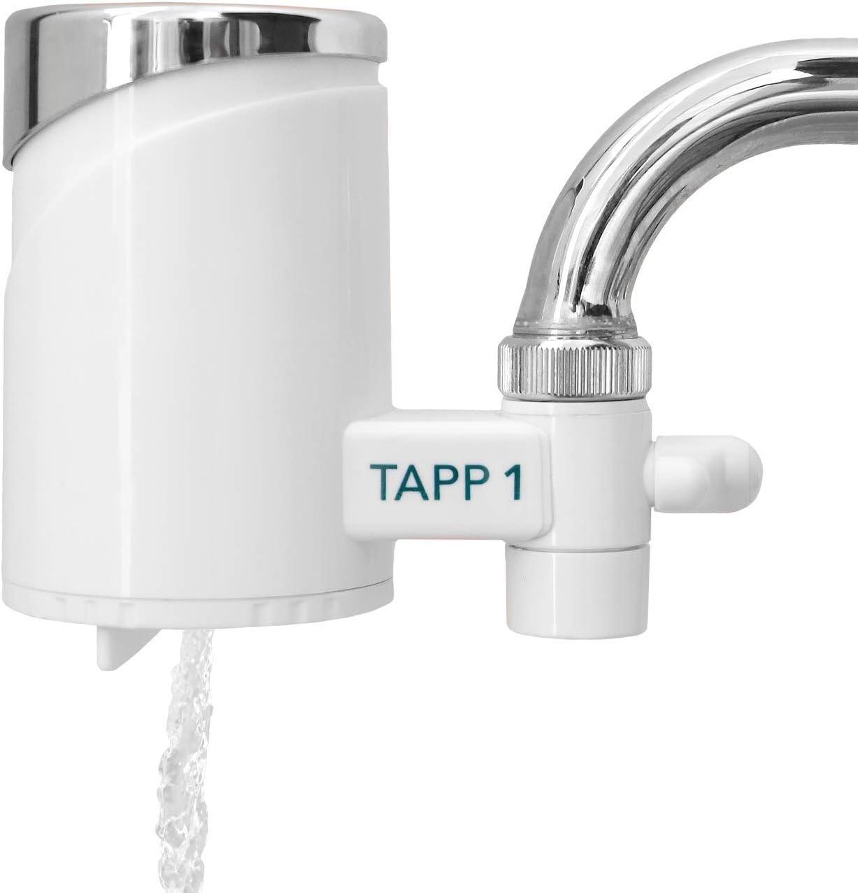 TAPP Water TAPP 1 - Sistema de Filtración para grifo - Filtra cloro, sedimentos, oxido, nitratos, pesticidos y elimina mal sabor y olor. Filtro de agua para grifo: Amazon.es: Hogar