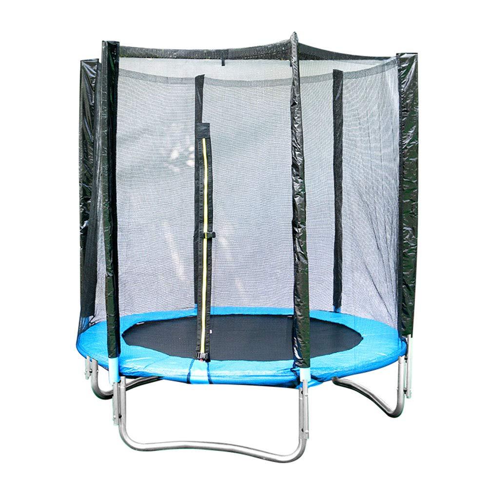 Trampolin Extra Breite 5,9ft / 180cm Sicherheitsnetz-Gehäuse Groß, Spaß und Fitness für Kinder Kinder Erwachsene, Indoor Outdoor Garten Übungsgeräte