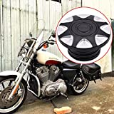 KaTur Motorcycle CNC Groove ROUGH CRAFTS Gas Cap Fuel Cap For Harley Sportster XL883 XL1200 1996-2015