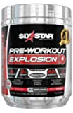 Six Star Explosion Pre Workout Explosion, Powerful Pre Workout Powder with Extreme Energy, Focus and Intensity, Fruit Punch, 30 Servings, 7.41oz