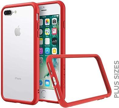 RhinoShield Funda Bumper Compatible con [iPhone 7 Plus/iPhone 8 ...