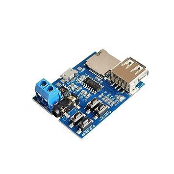 Tragbares Audio & Video 2 Stücke Los Mit Leistungsverstärker Tf-karte U Festplatte Mp3-decoder Video-player-modul Mp3 Decodierung Bord