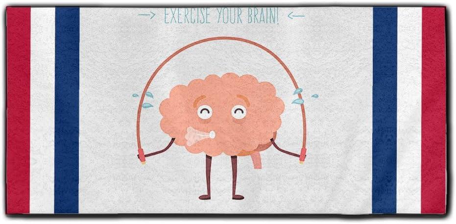 Sherry Noo ejercicio tu cerebro toalla de mano poliéster