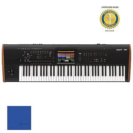 Amazon com: Korg Kronos 73 note Keyboard Workstation