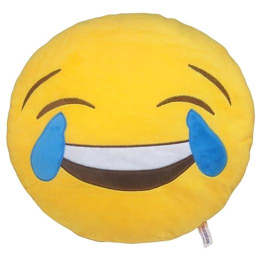 Cojín Emoji Lágrimas de Alegría