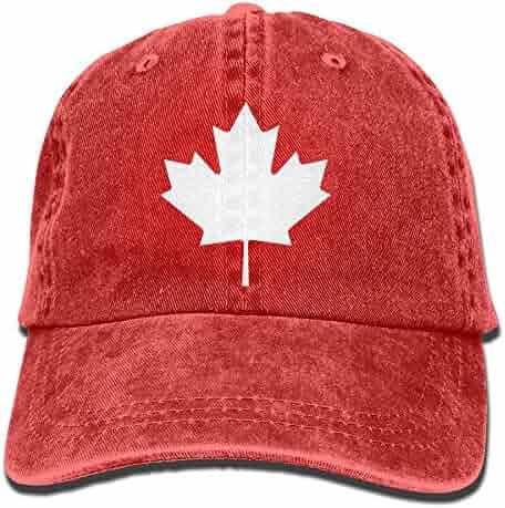07afe42f8af4f Canada-Maple-Leaf-icon-Simple 2018 Upgrade Unisex Adult Adjustable Trucker  Cap