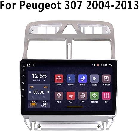 SADGE Nav 9 Pulgadas estéreo Navegador de GPS androide del Coche de Radio del GPS Autoradio Jugador de la navegación - Aplicable para Peugeot 307 2004-2013, Pantalla táctil Multimedia: Amazon.es: Deportes y aire libre