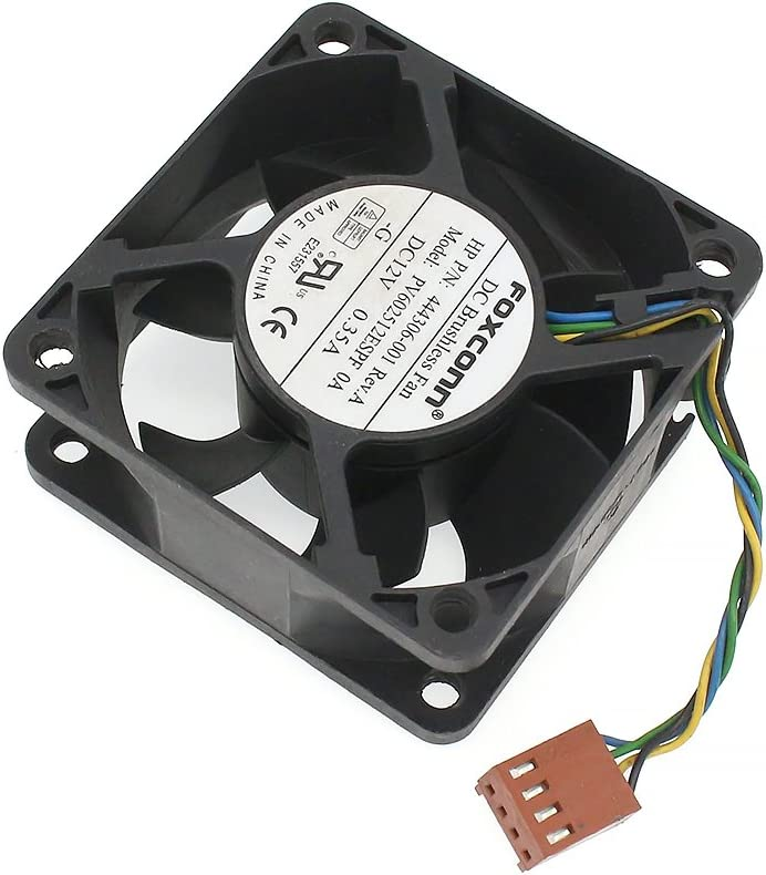 HP 444306-001 dc7800 dc7900 USFF Cooling Fan DC12V 4-Pin 4-Wire PV602512ESPF OA