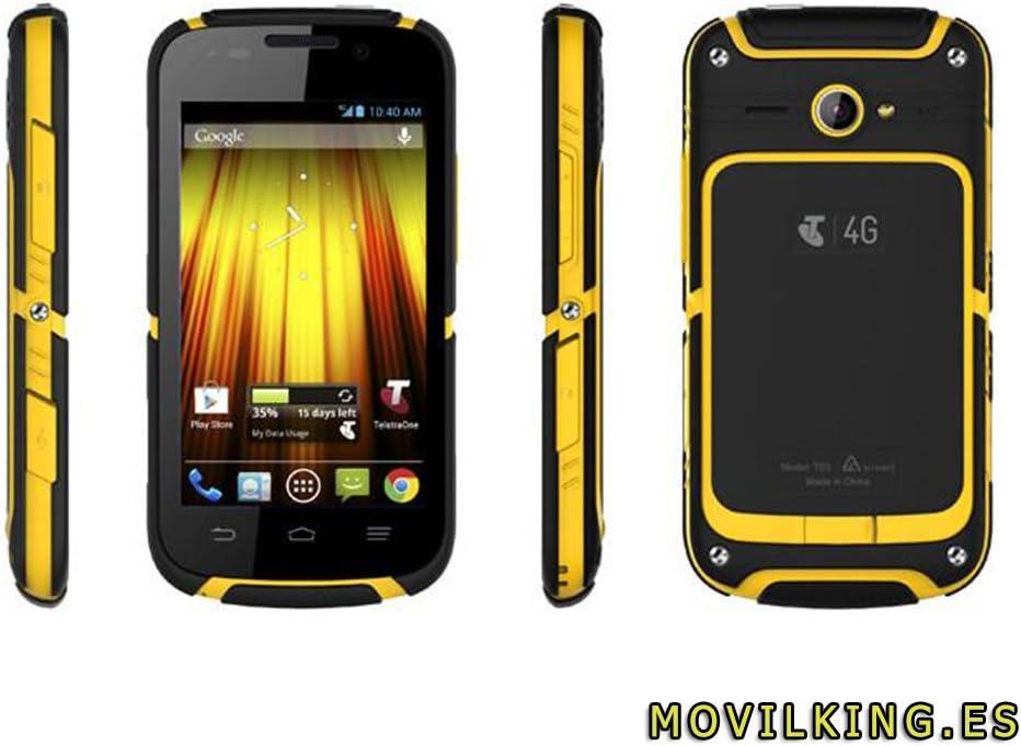 ZTE Telstra Dave T83-4GB - Negro/Amarillo Smartphone Libre Android ...