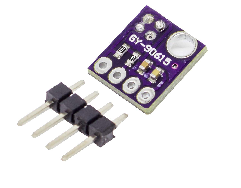 MissBirdler I2C Infrared Temperature Sensor MLX90615 Blue for Arduino Raspberry Pi 1C/° Accurate!