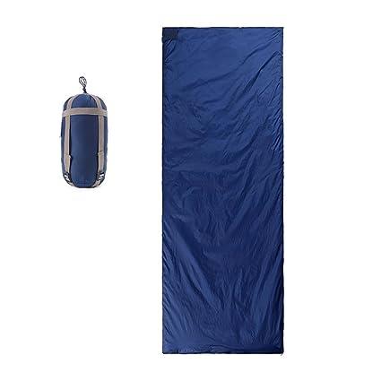XY&CF Al Aire Libre Ultraligero Portátil Saco de Dormir Cuatro Estaciones Salvaje Camping Solo Saco de