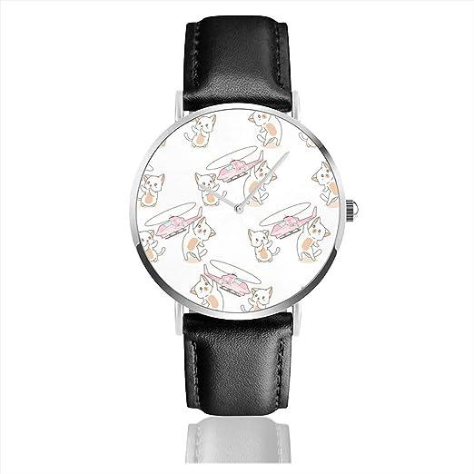 Reloj de Pulsera sin Costuras 2 Kawaii Gatos están Jugando ...