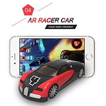 PoWise Racing Gaming AR Racer a Real fly Car on Mobile with